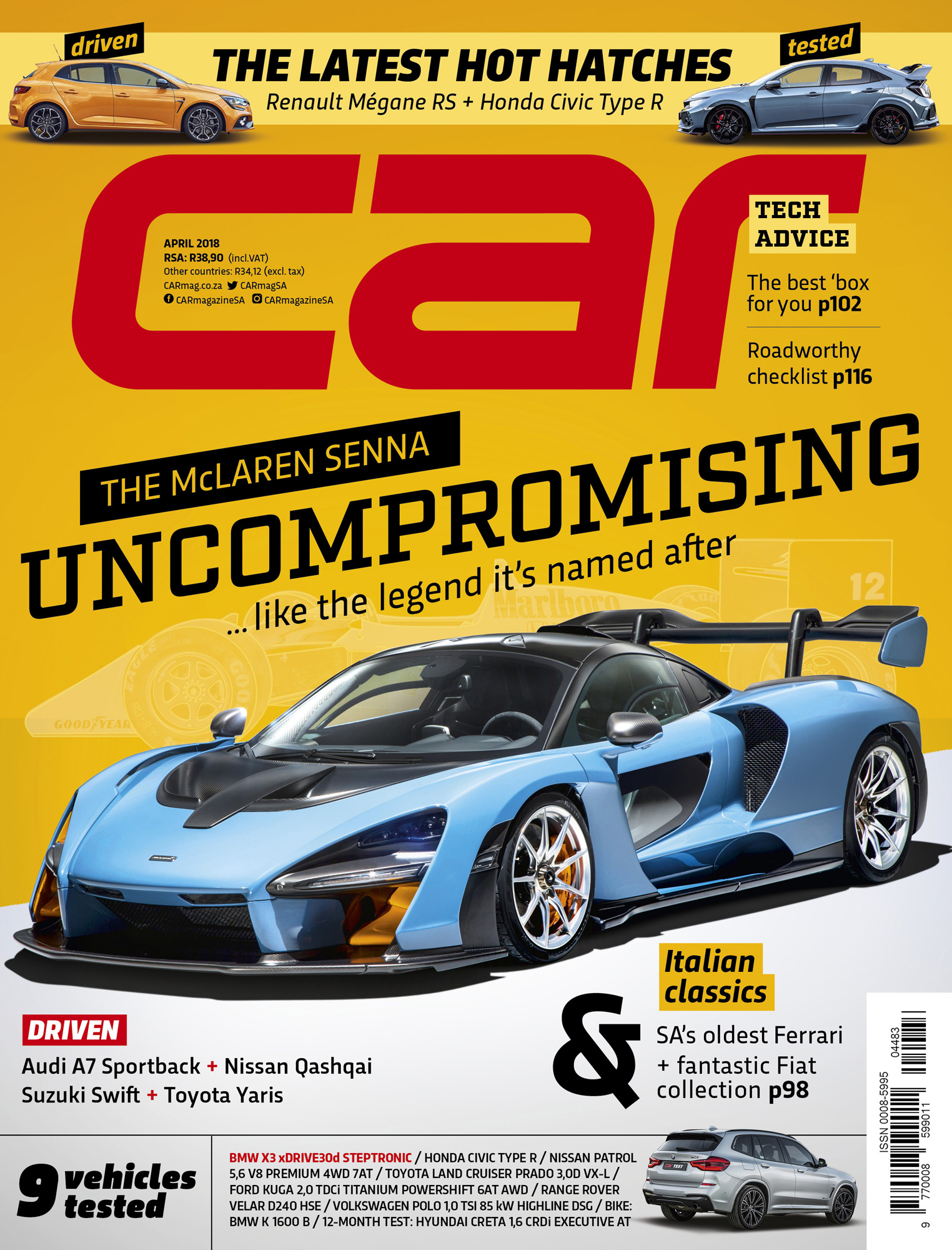 April 2018 CAR magazine