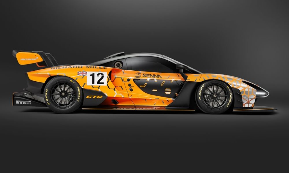 This Senna GTR will be lighter and more powerful than the road-going model.