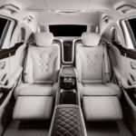Mercedes-Maybach S650 Pullman rear seats
