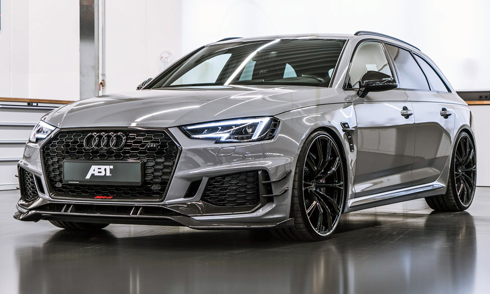 Abt Squeezes Even More Out Of The Audi Rs4 Wagon Car