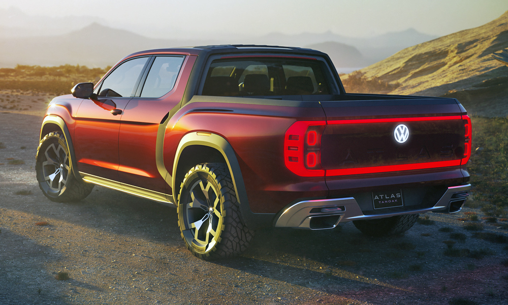 Volkswagen shows off Atlas Tanoak bakkie concept! - CAR ...