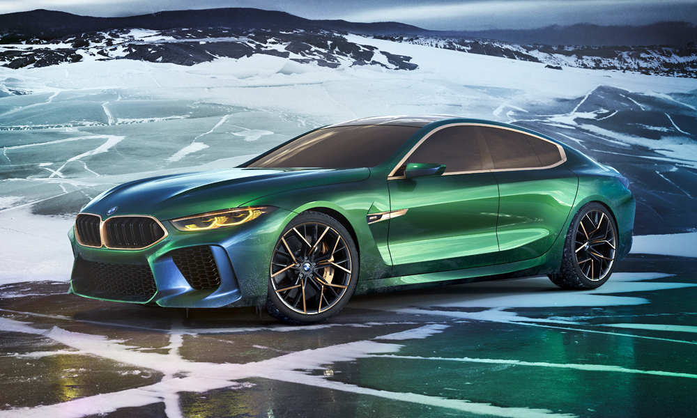 Sleek New Bmw Concept M8 Gran Coup 233 Unveiled Car Magazine