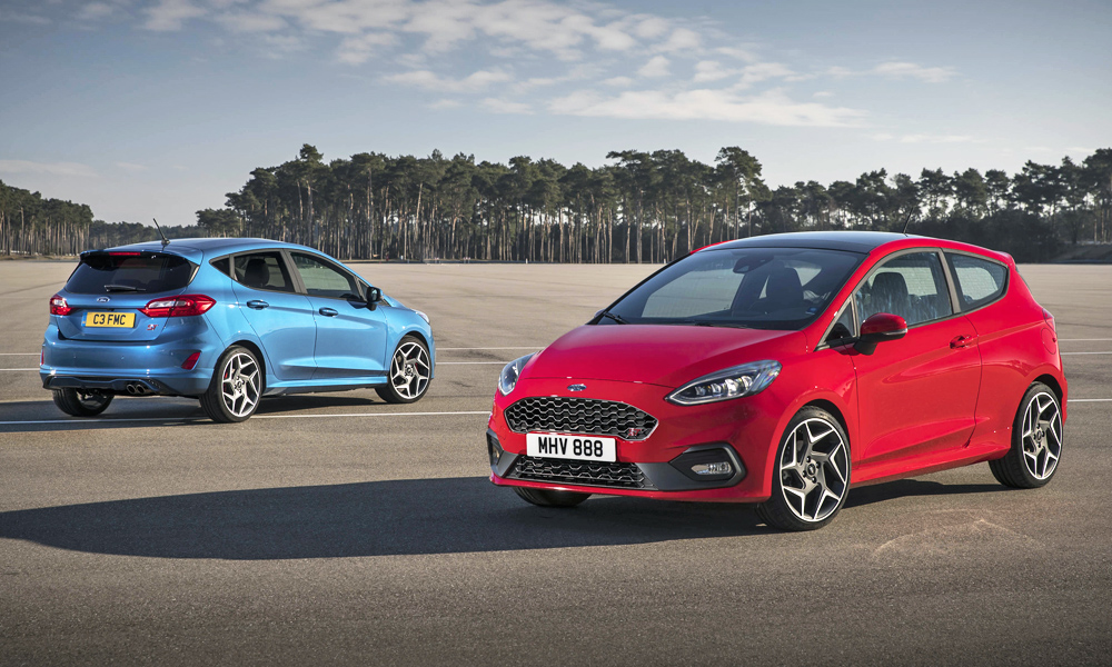 The new Fiesta ST will be built in three- and five-door configuration.
