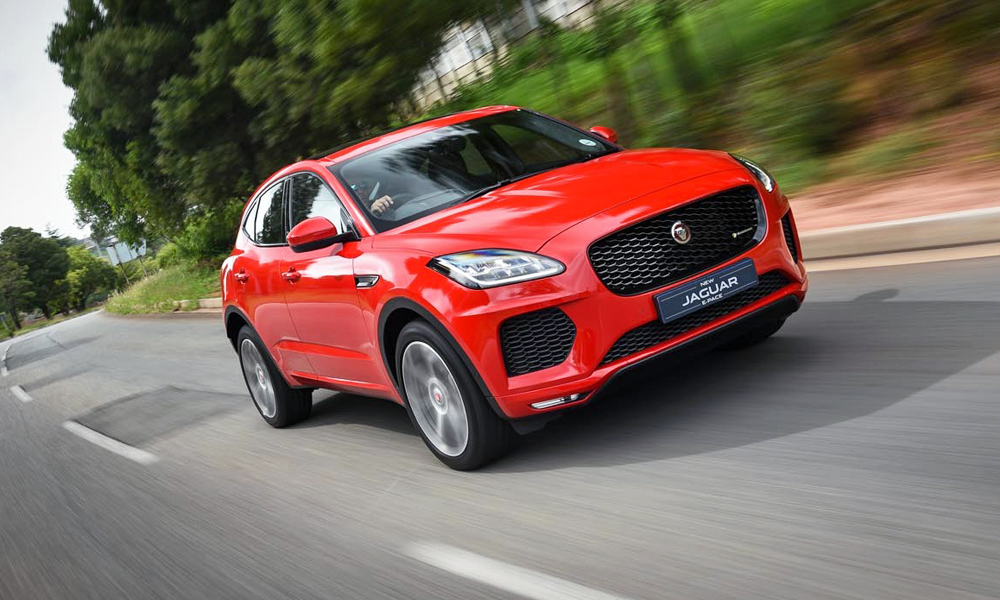 We drive the new Jaguar E-Pace in Johannesburg.