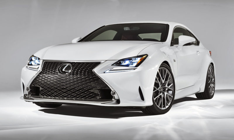 Lexus Sa Gives Rc Coupe More Kit Drops Starting Price Car Magazine