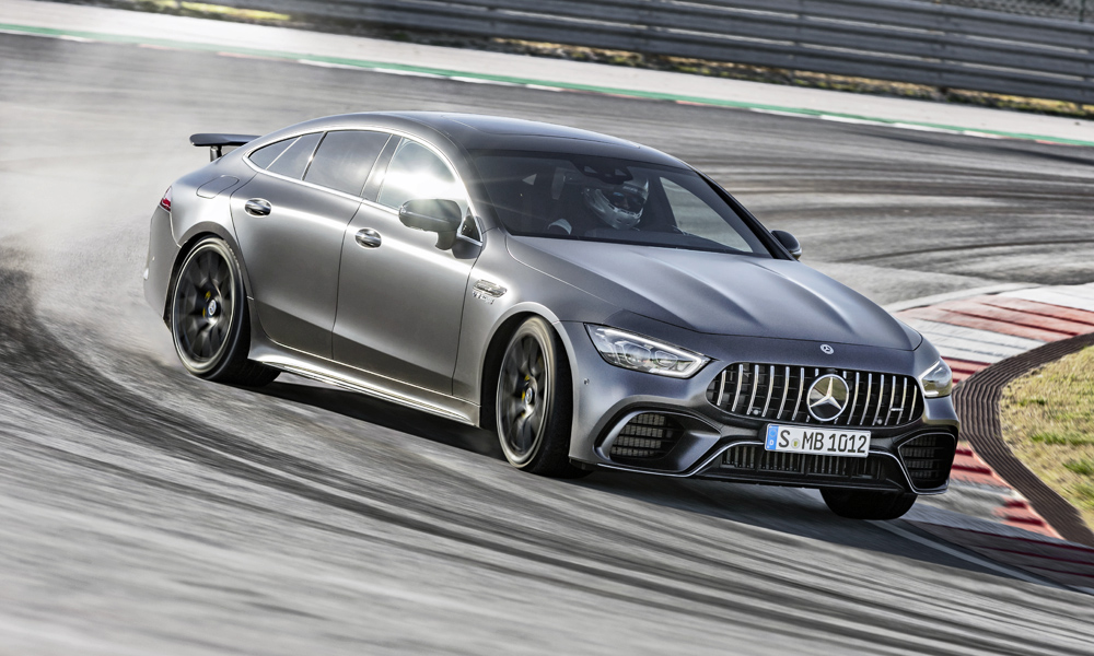 Mercedes-AMG has revealed its new GT 4-Door Coupé.