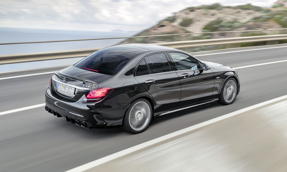 refreshed mercedes amg c43 gets more power car magazine. Black Bedroom Furniture Sets. Home Design Ideas