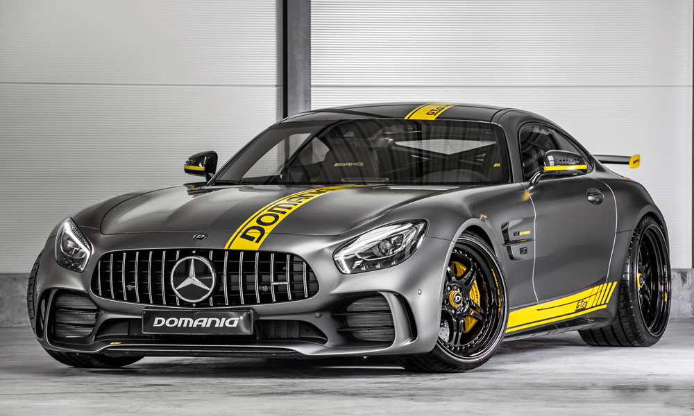 Domanig Autodesign has turned its attention to the Mercedes-AMG GT R.