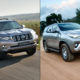 Toyota Land Cruiser Prado or Toyota Fortuner?