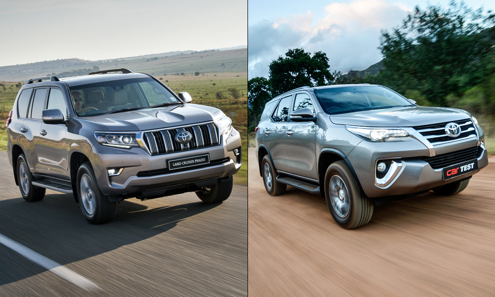 Toyota Buying Debate Land Cruiser Prado Vs Fortuner