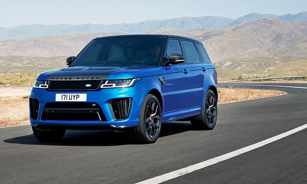 faster lighter range rover sport svr on the cards car magazine. Black Bedroom Furniture Sets. Home Design Ideas