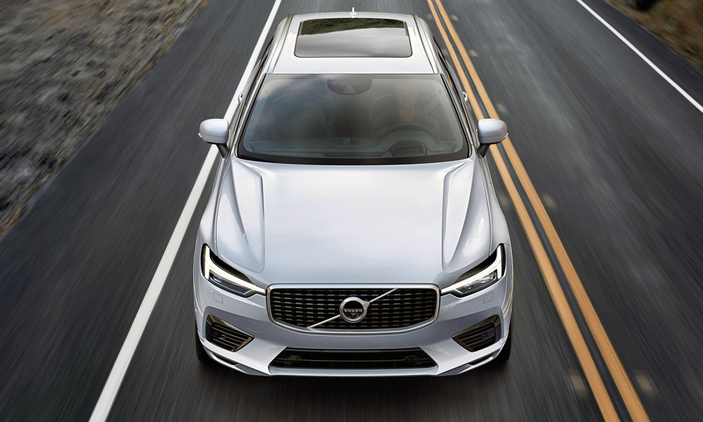 The XC60 will take on the likes of the Audi Q5 and BMW X3.