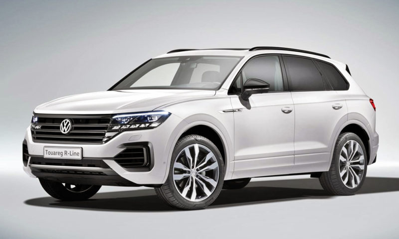 Say hello to the new (third-gen) Volkswagen Touareg!