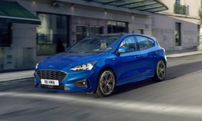 2018 ford focus ST Line front