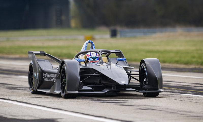 BMW iFE.18 first track tests completed
