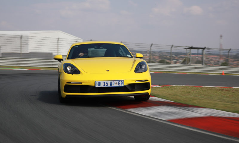 Cayman GTS front