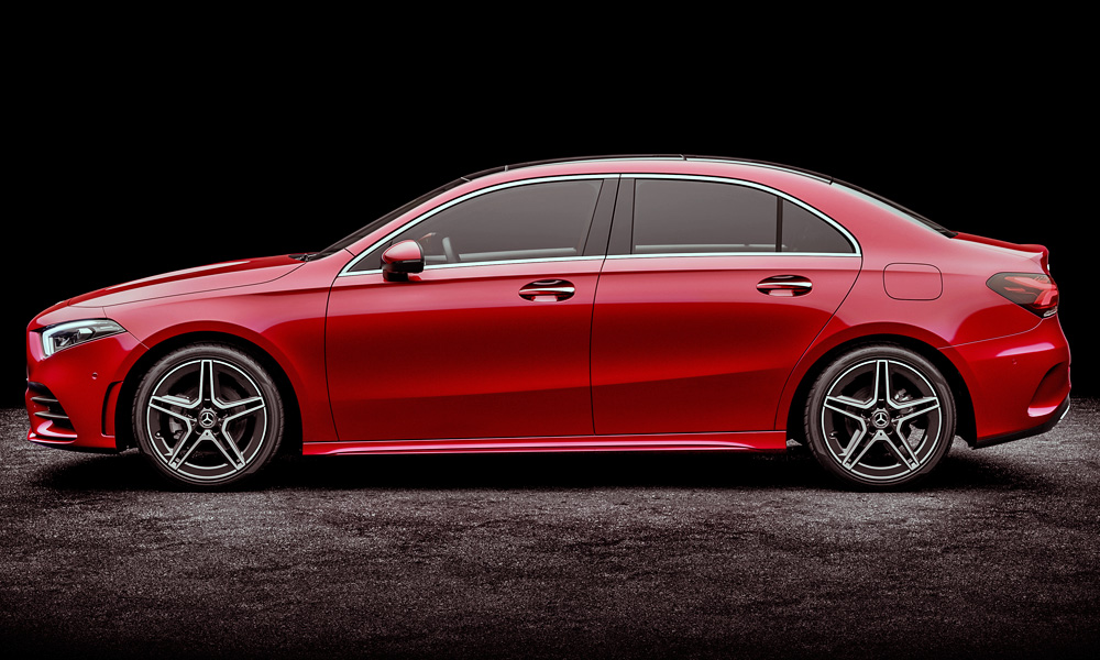 ... The A Class L Sedan Gains 60 Mm Of Wheelbase Over The Hatchback.