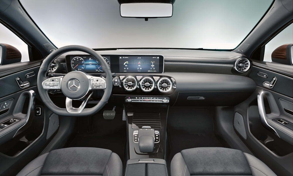 Say Hello To The New Mercedes Benz A Class L Sedan Car Magazine
