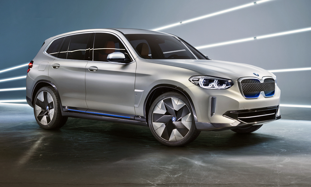 The new BMW Concept iX3  has been revealed.