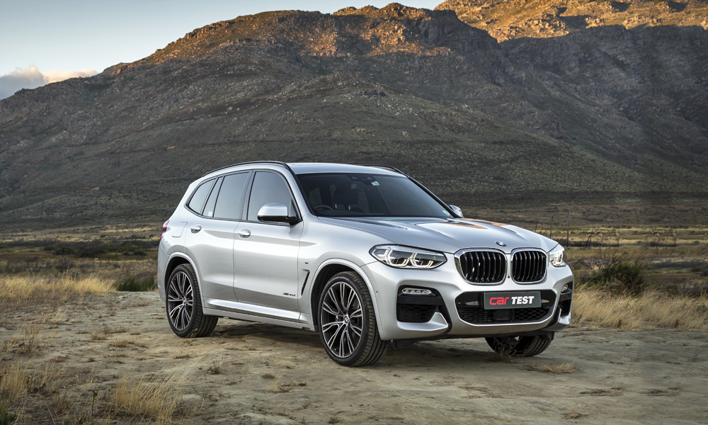 The BMW X3 xDrive30d offers a superb powertrain with effortless performance.