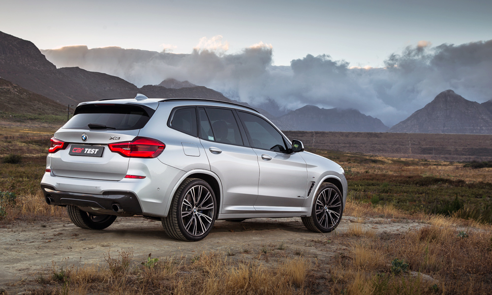 Optional M Sport package adds wider sills and larger alloy wheels.