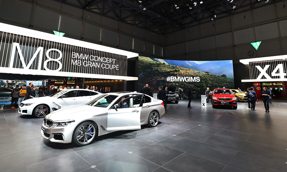 Bmw group to slash motor show budget says fresh report for What does a motor vehicle report show
