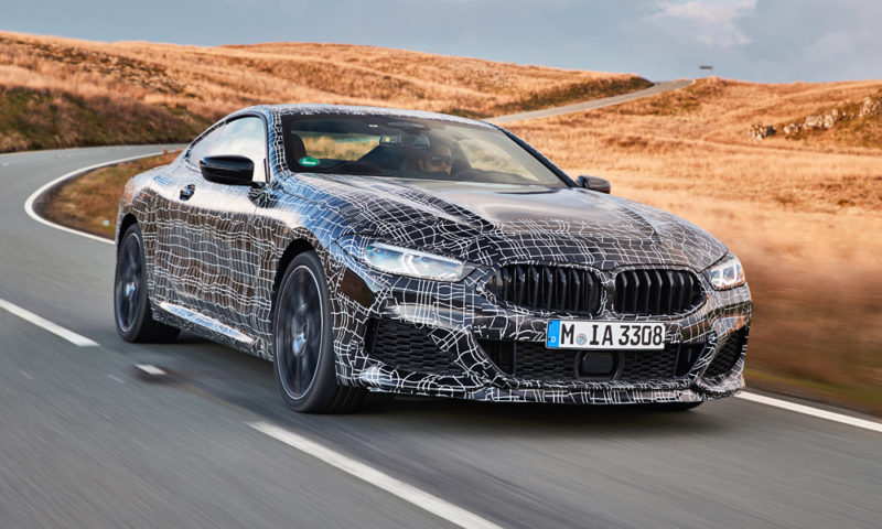 Nové BMW M850i xDrive Coupé