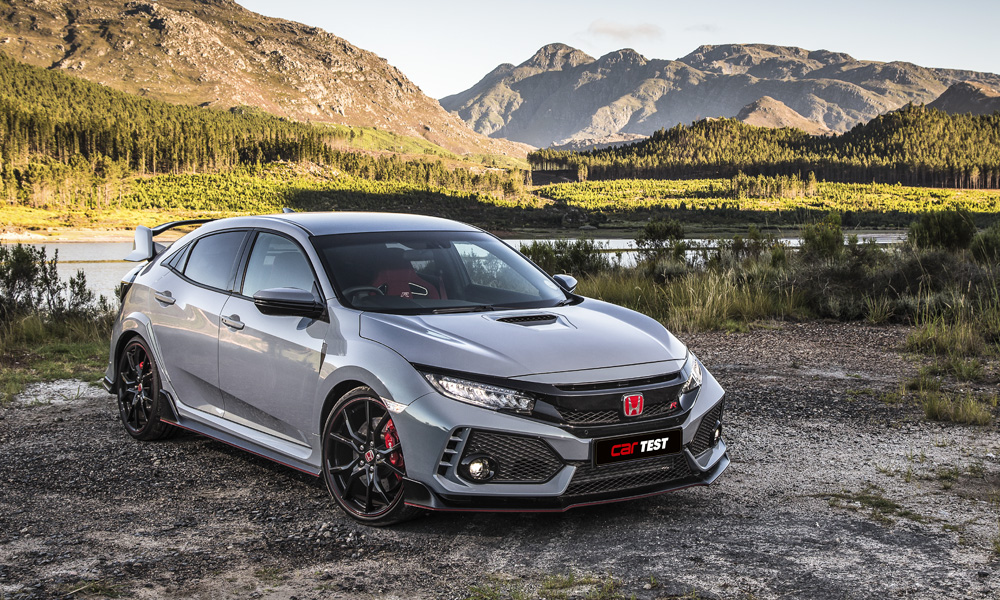 The new Honda Civic Type R is an exhilarating thing to pilot at maximum attack.