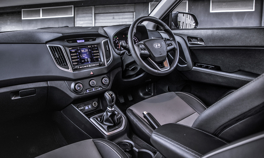 Interior is sophisticated enough.