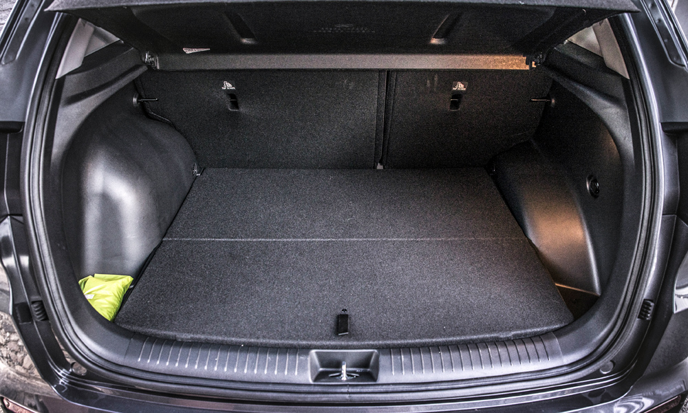 Luggage compartment, however, is among the smallest in the segment.