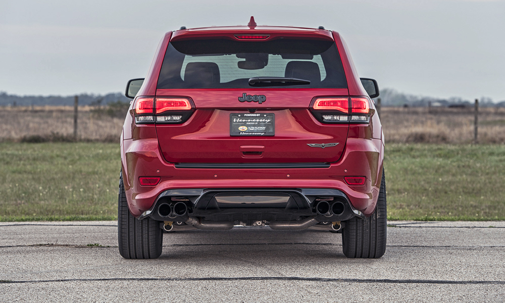 The Grand Cherokee Trackhawk uses a 6,2-litre supercharged V8.