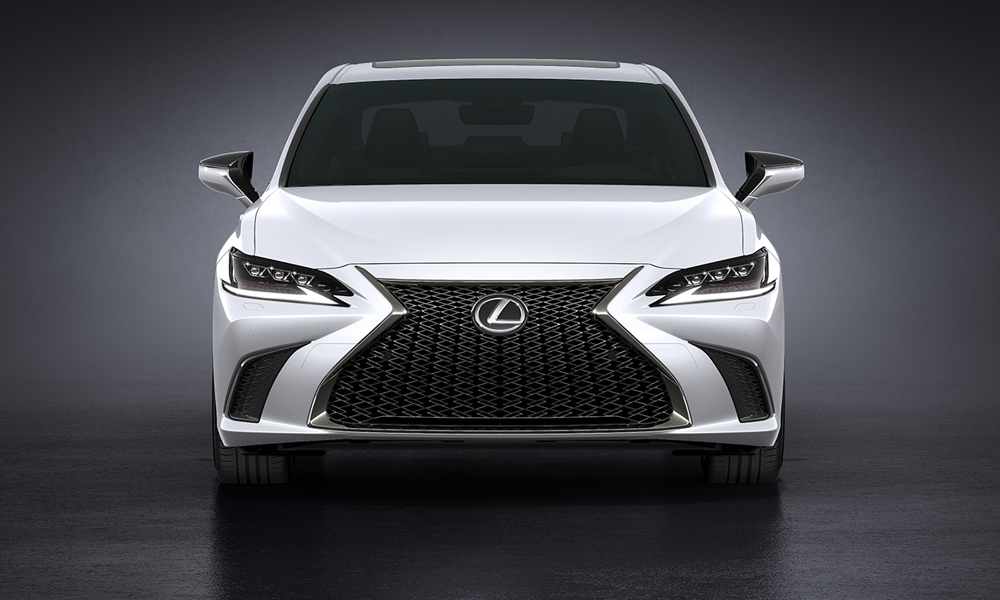 F Sport variants boast a model-specific grille.