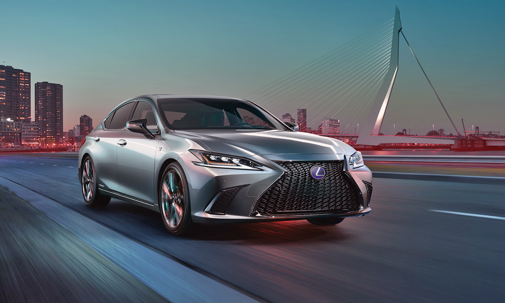 Lexus promises sharpened performance from the new ES.