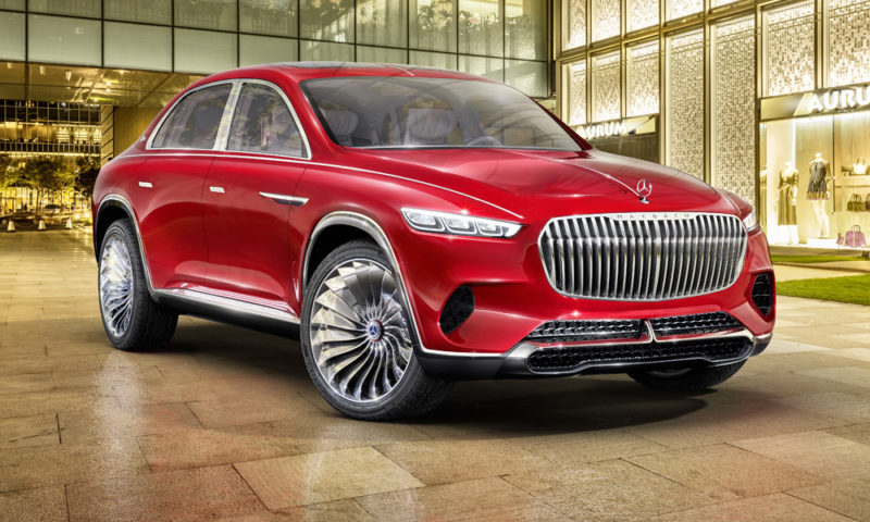 Meet the Vision Mercedes-Maybach Ultimate Luxury concept...