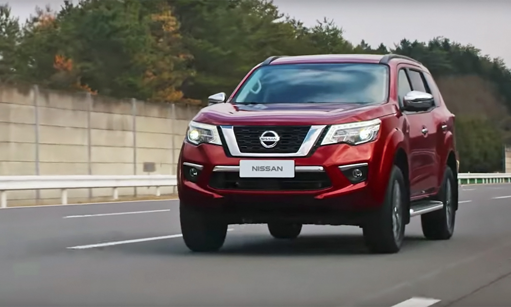 Nissan Terra: more details of Navara-based SUV released - CAR magazine