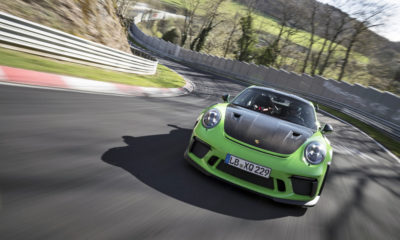 Porsche 911 GT3 RS lap time