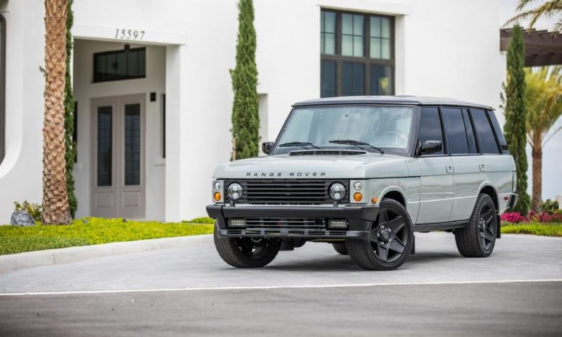 Range Rover Classic Project front