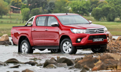 Toyota Hilux leads after first quarter