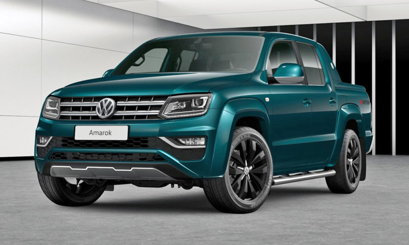Volkswagen Amarok V6 features an overboost function