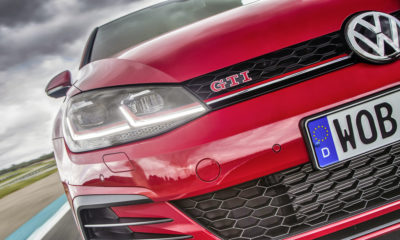 Volkswagen Golf GTI and logo