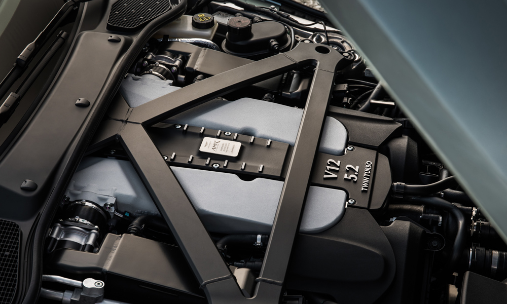 The 5,2-litre, V12 turbopetrol engine has been tweaked to deliver 470 kW, 23 kW more than before.