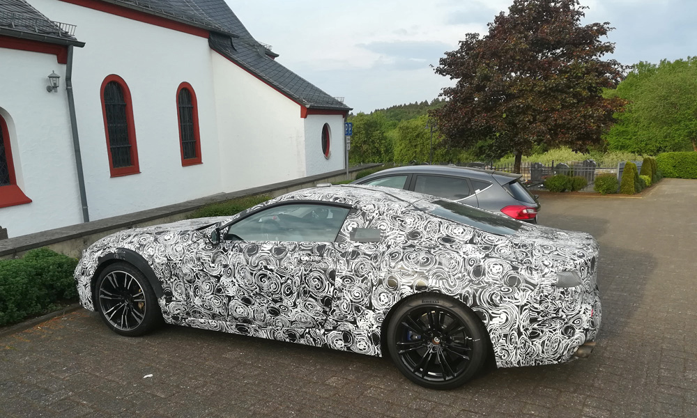 CAR features writer Wilhelm Lutjeharms spotted the BMW 8 Series coupé in Germany.