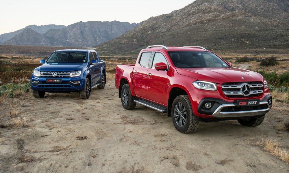 We tested the new Mercedes-Benz X-Class ... and brought along a Volkswagen Amarok to compare.