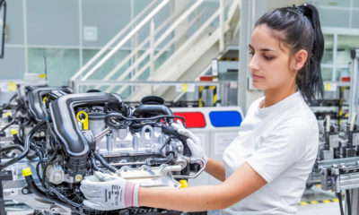 Audi Hungaria has started production of a new three-cylinder petrol engine.