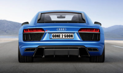 The base R8 V10 is one of 21 derivatives culled from Audi SA's range.