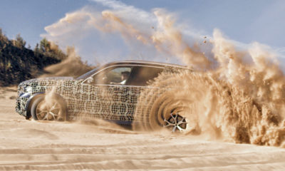 BMW X5 with off-road package