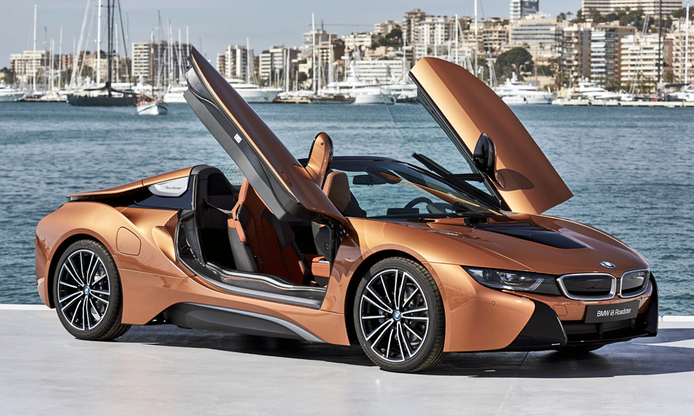 Driven Bmw I8 Roadster Car Magazine