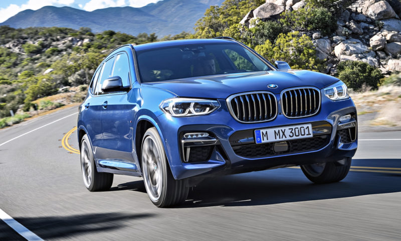 BMW X3 M40d leads raft of model revisions