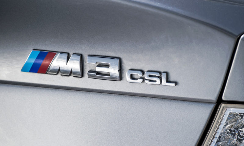 BMW CSL badge