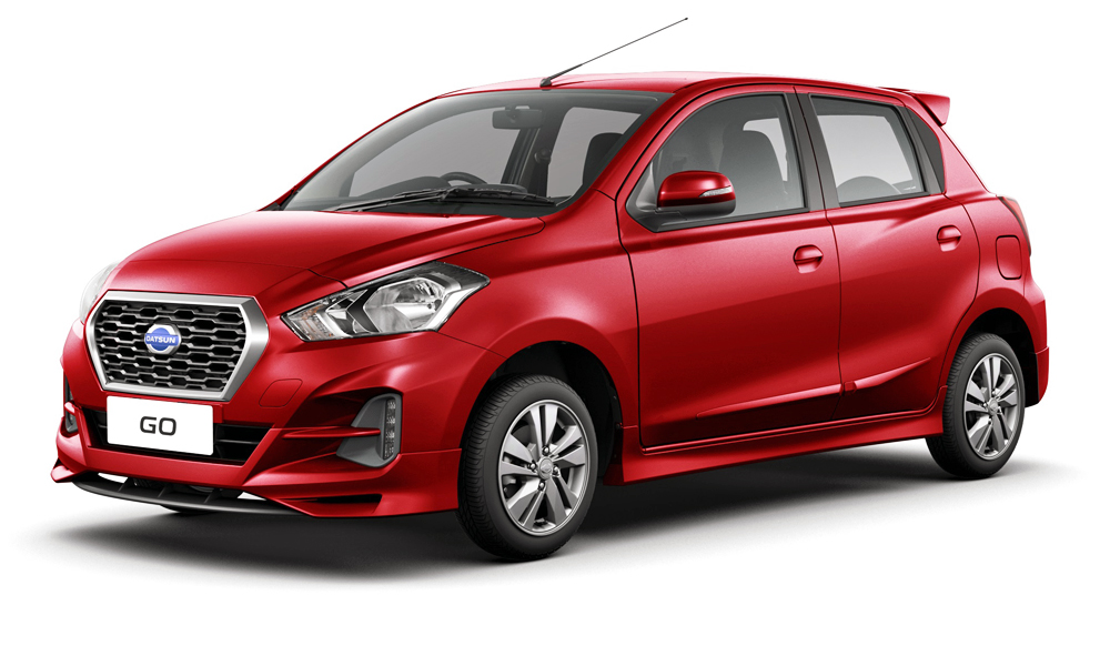 The Datsun Go has been handed a facelift.